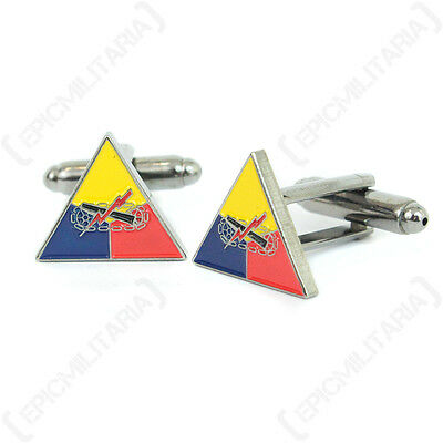 Ww2 Style American Armoured Division Cufflinks - New