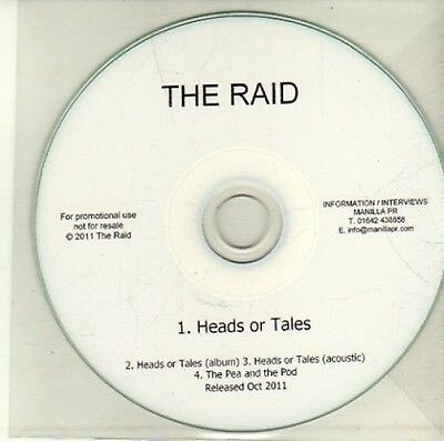(CI901) The Raid, Heads or Tales - 2011 DJ CD
