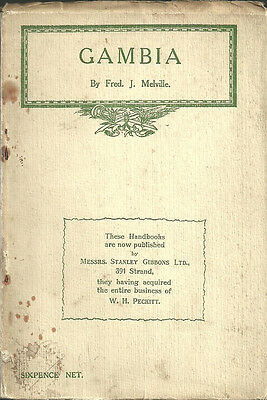 Book. Gambia By Fred Melville