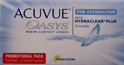 1x 12er Box Acuvue Oasys for Astigmatism