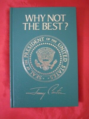 """Jimmy Carter """"Why Not The Best"""" Signed Book"""