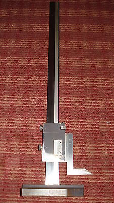 Brown & Sharpe 18 Inch Height Gage No. 586 Made In U.s.a.