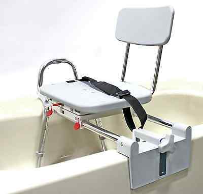 Eagle Health Tub Mount Swivel Sliding Seat Transfer Bench 77762