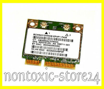 Broadcom BCM94313 half size mini PCI-Express Wlan WIFI 4313 Bluetooth Combo Card