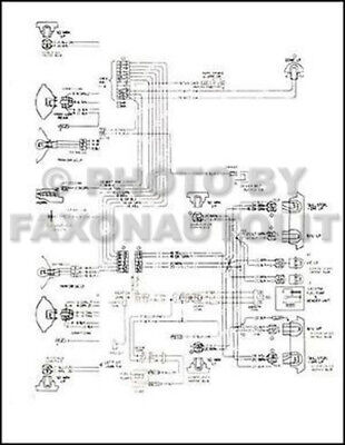 1974-1975 GMC CHEVY 9000 9500 90 95 Conventional Wiring ... on