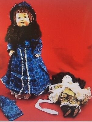 "E.I.H HORSMAN 17"" Rosebud Composition DOLL KAMMER and REINHART German Bisque Art"
