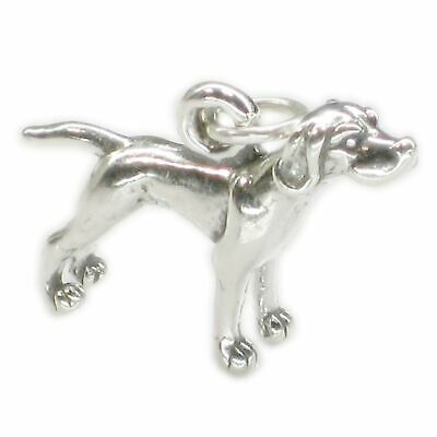 Airedale Dog sterling silver charm .925 x 1 Airedales Dogs charms SSLP4718 pKTzNVi
