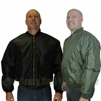 Ma1 Military Army Pilot Security Doorman Mod Bomber Mens Jacket Biker Uk Design