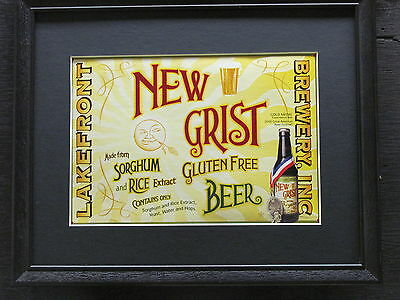 Lakefront Brewery New Grist  Beer Sign  #615