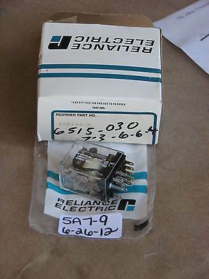 Nib Reliance Electric Plug In Relay 600434-X 48 Vdc