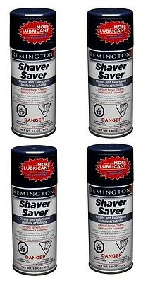 REMINGTON Shaver Saver Spray Cleaner SP4 SP-4 - 4 Pack