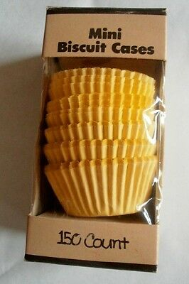 1981 Hoan Mini Biscuit Cases or Cups Box w/ Paper Muffin Cake Type Liners Full