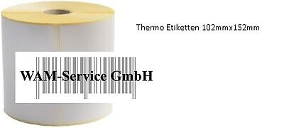 5 Rollen Thermo Etiketten 102mm*152mm 475 pro Rolle UPS,DHL & DPD Versand
