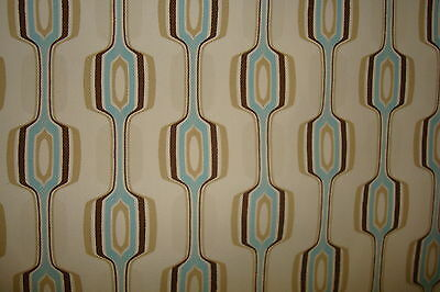 Geometric  60's look   Twill buy what you need or look for 2 yard auction