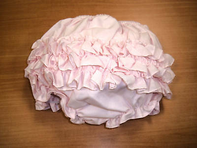 New Sarah Louise Pink Infant Ruffle Diaper Cover Bloomers Sizes 0-18 Months