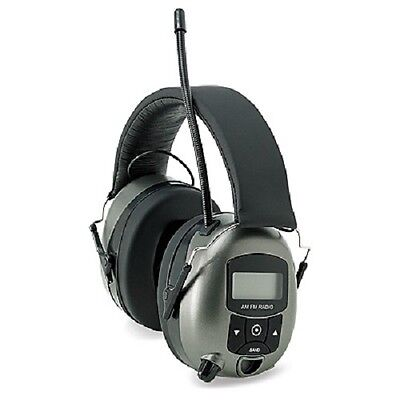 Safety Works 10121816 Digital MP3/AM/FM Stereo Radio Hearing Protector Muffs
