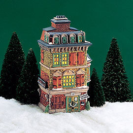 Dept 56 - Dickens Village - The Flat Of Ebenezer Scrooge