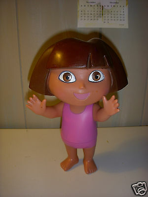 736943cb40903 Dora The Explorer Doll Mattel Viacom Splash Around Bath Time Pink Swim Suit  8