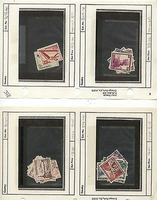 Germany nice lot of stamps on stock pages old catalog $1,175.00      KEL0803