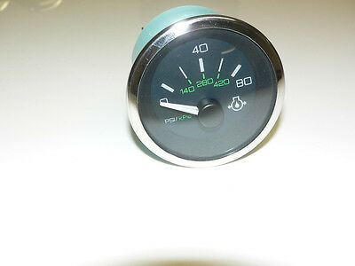 NEW OEM SEA Ray 0-80 Psi Oil Pressure Gauge Sea Ray Part