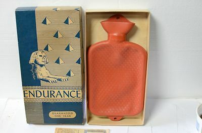 Vintage Endurance Comfy Rubber Water Bottle Douche Enema Bag