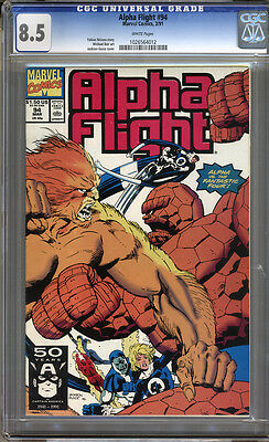 Alpha Flight #94 CGC 8.5 VF+ Universal