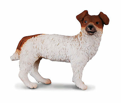 *NEW* CollectA 88080 Brown / White Jack Russell Terrier Dog Model 4.5cm Canine