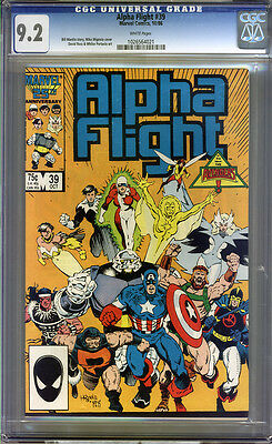 Alpha Flight #39 CGC 9.2 NM- Universal