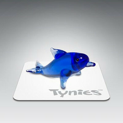 PIE Blue Dolphin animal TYNIES Tiny Glass Figure Figurines Collectibles NEW 0052