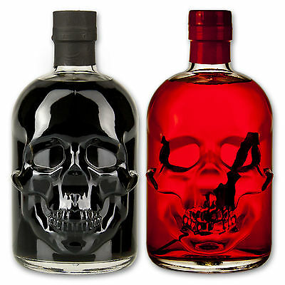Absinthe Totenkopf Set: Black Head 55% + Red Chilli Head 55% - Wermut