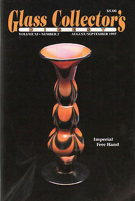 Glass Collector's Digest August/September 1997, Vol. X,
