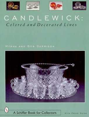 CANDLEWICK: COLORED & DECORATED LINES - Price guide & history