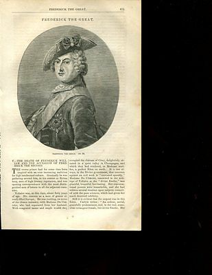 Frederick the Great Prussia Frederick the II  Devine Emilie Voltaire CM1435