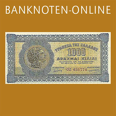 Griechenland / Greece 1000 Drachmen 1941 Pick 117 (1/1-)