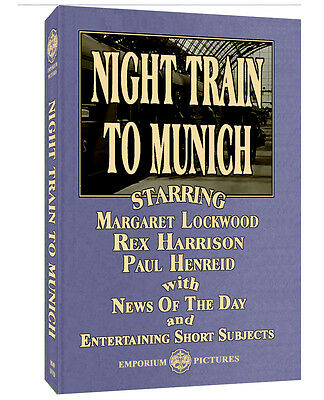 Night Train To Munich (1940) Great RR Action On The Eve Of WWII On DVD