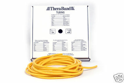 Thera-Band Tube gelb 7,5m Rolle Theratube NEU