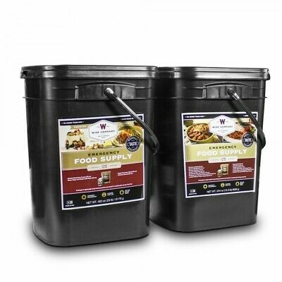 Wise Foods 240 Servings Survival Emergency Bucket Freeze Dried Rations 25 Year