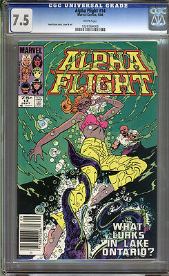 Alpha Flight #14 CGC 7.5 VF- Universal