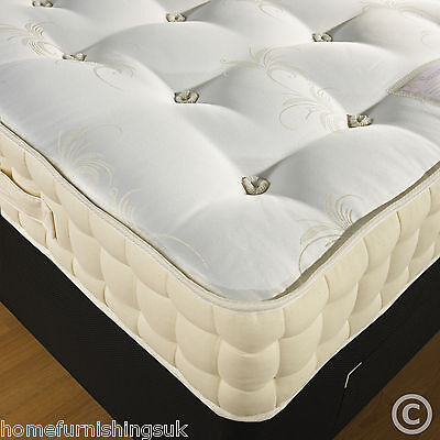 NEW 3ft6 Large Single 2000 POCKET SPRUNG MATTRESS HAND SIDE STITCHED FREE DEL