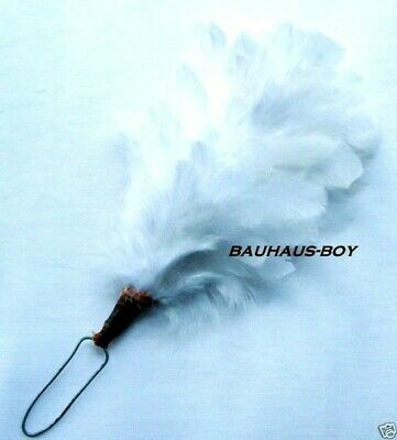 White Feather Hackle Plume For Glengarry & Balmoral Hats Highlandwear Kilts New