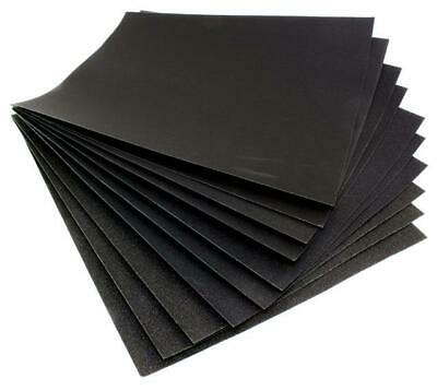 Abrasive Wet And Dry Paper 80 Grit, Pack Of 50 Sanding Sheets
