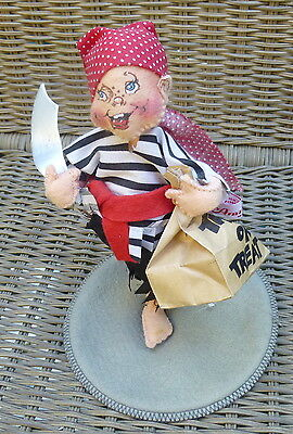 1992 Annalee Halloween Pirate Trick or Treater Figure Figurine