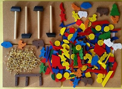 Hammer & Nail Tap Tap Set Educational Toy for 4
