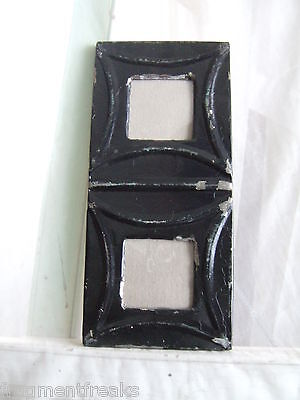 Antique CEILING TIN Picture Frame Double  3 x 3  RECLAIMED Black