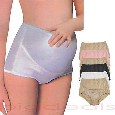 Maternity Underwear Brief Motherhood Pregnancy Cotton Support Black White 6 104