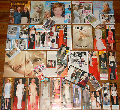 MICHELLE WILLIAMS spanish clippings 52 photos sexy candid pictures Heath Ledger
