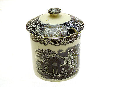 George Jones Abbey Ware Marmalade Pot and Cover