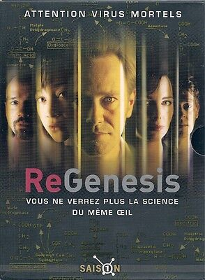 Coffret Digipack 4 Dvd--Serie Tv--Regenesis / Re Genesis--Integrale Saison 1