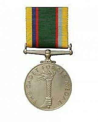 Official Cadet Forces Medal Miniature Medal + Ribbon ( army veterans