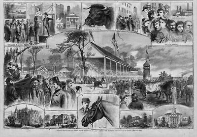 Indiana State Fair 1867 Terre Haute Among The Hoosiers State Normal School